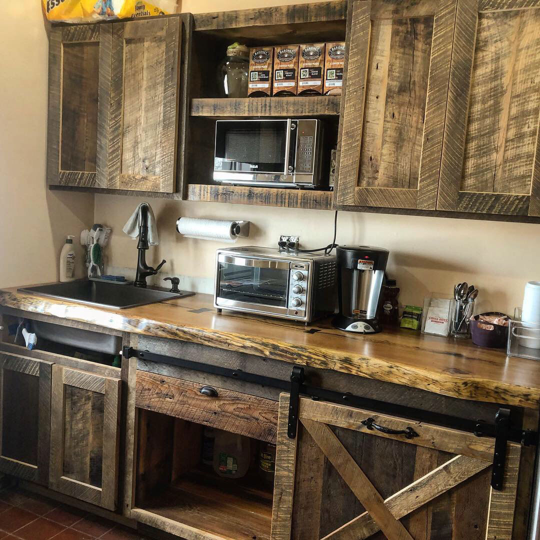 Kitchen Cabinetry And Shelves American Reclaimed