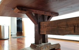 Wooden Dining Table Base