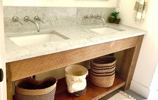 Wooden Storage Bathroom Vanity