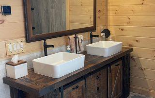 Jack and Jill Bathroom Vanity